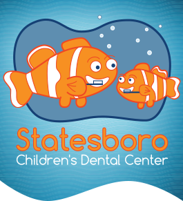 Logo for pediatric dentist Dr. John Wasdin